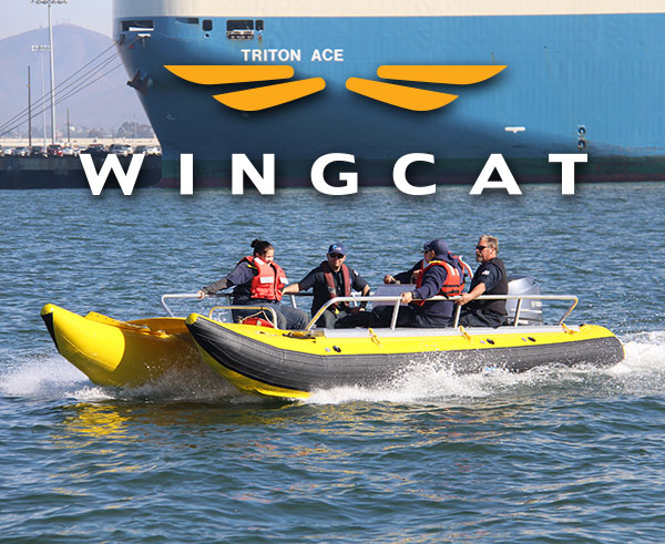 WingCat Shallow Draft Work Boat